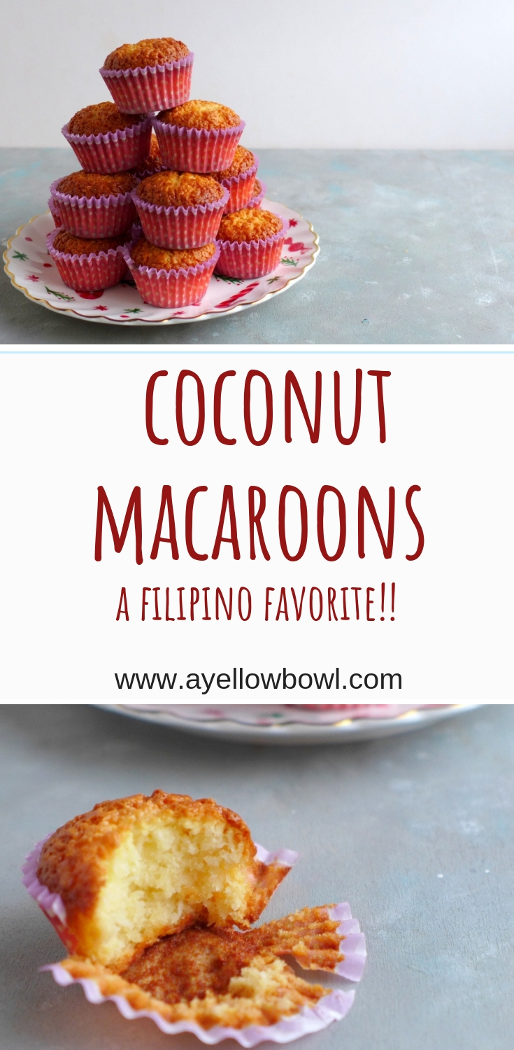 Coconut Macaroons A Yellow Bowl